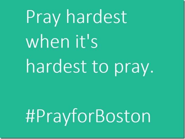pray for boston marathon