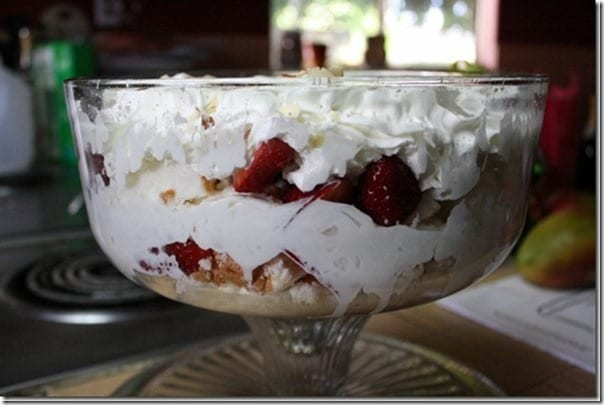 strawberry Trifle recipe
