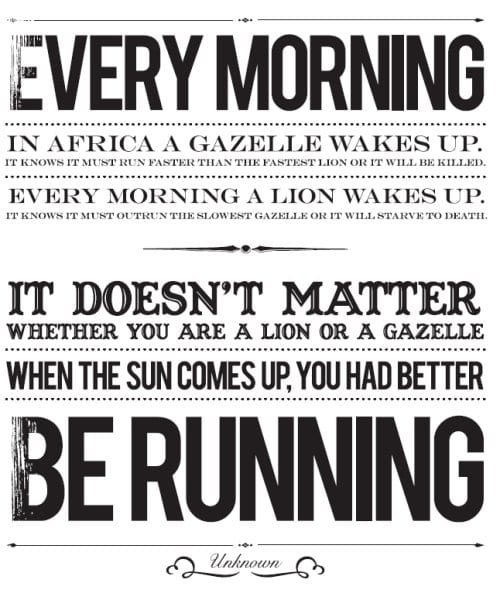 you better be running Motivation Monday–Come Run Ojai with me!