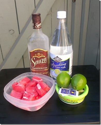 watermelon margarita ingredients