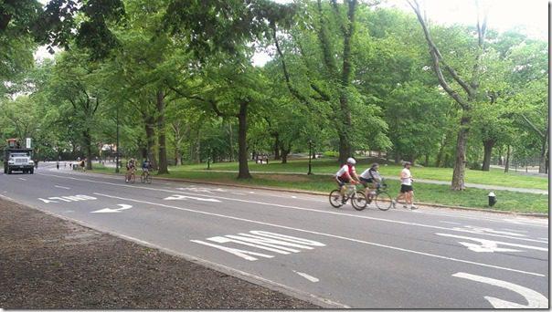 central park path run
