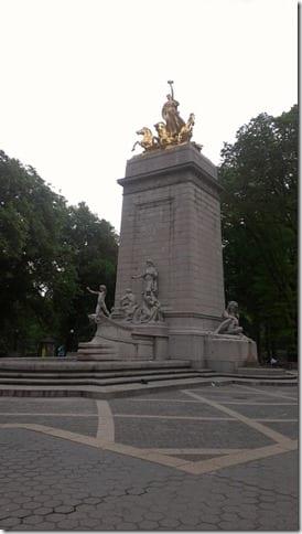 columbus circle central park run