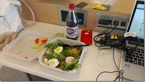 salad bar at jfk airport