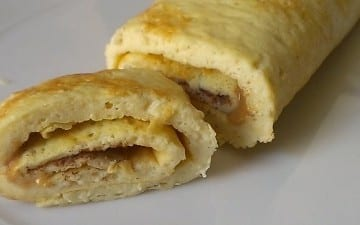 Stuffed Protein Crepes Recipe