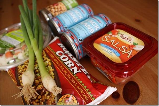 sabra salsa and ingredients
