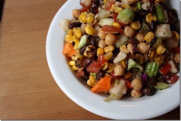 Confetti Salad Recipe– with black beans and corn