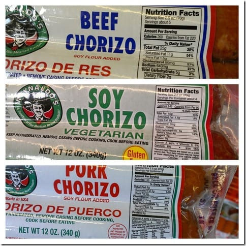 Just the Tip Tuesday– Healthiest Chorizo