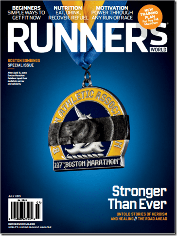 runners world cover boston marathon