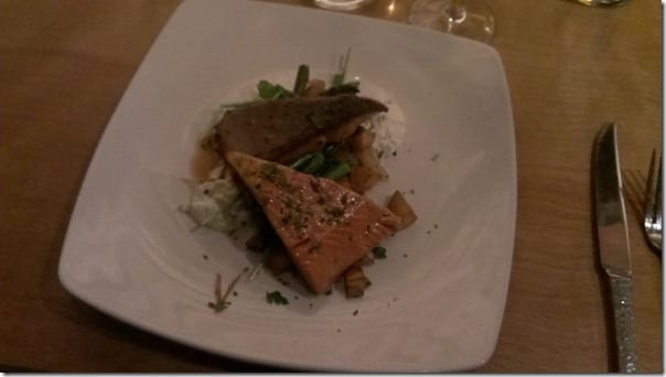 salmon at SALT