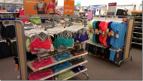 target champion exercise gear for women
