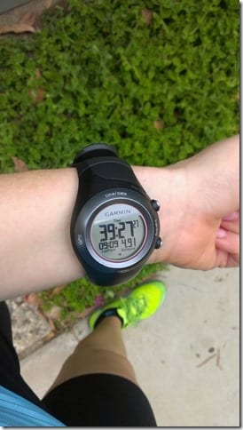 garmin running watch 410