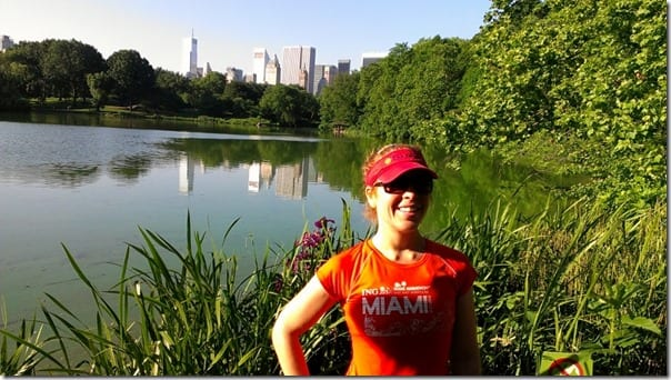 run in central park lake