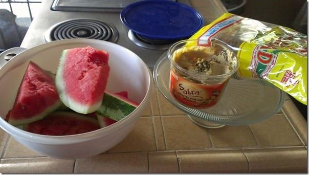 watermelon and hummus but not watermelon hummus