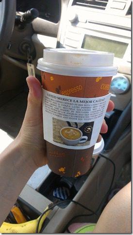 Tierra Mia Cubano con leche coffees