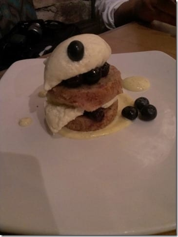 gluten free blueberry shortcake