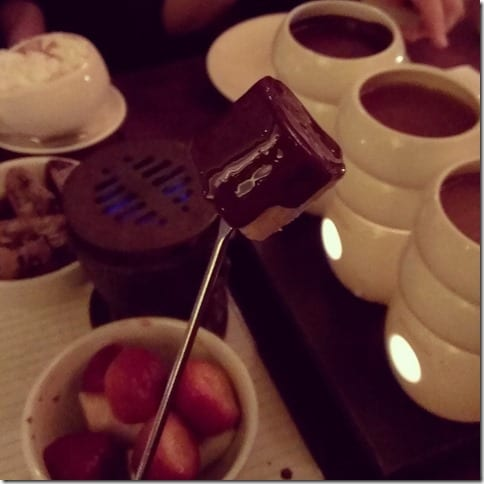 max brenner fondue in new york