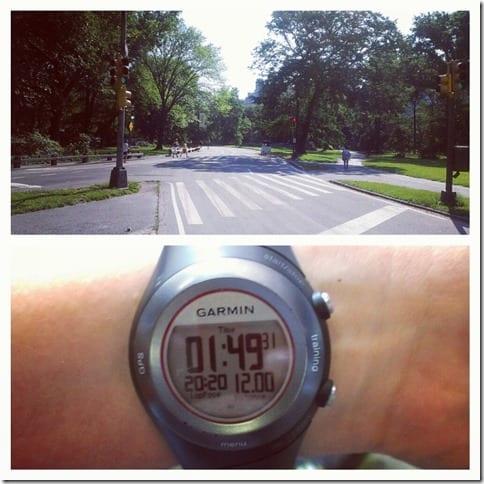 running loop in central park