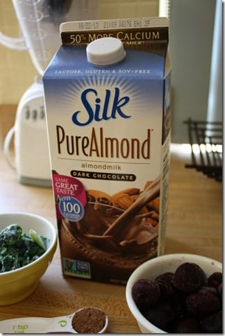 silk pure almond chocolate milk