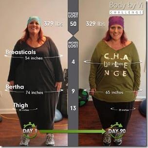 body by v challenge