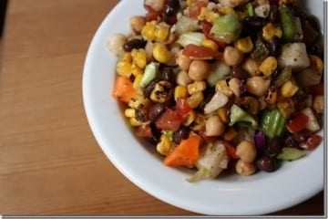Confetti Salad Recipe – Black Bean and Corn