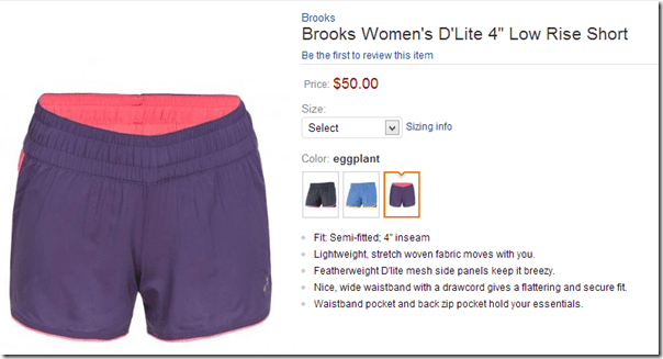 image thumb30 Fitness Fashions–Brooks D'Lite Tank and Shorts