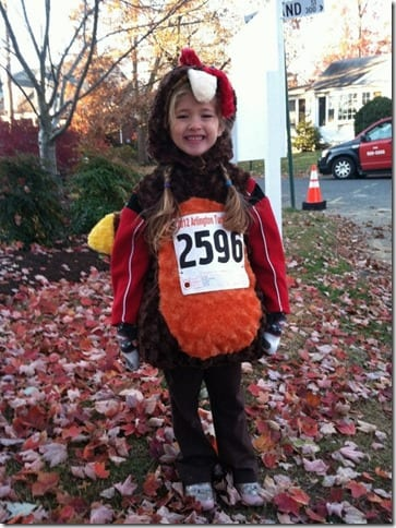 meg little turkey runner 598x800 thumb Running Fashion Don'ts   Brooks Running Gear Makeover