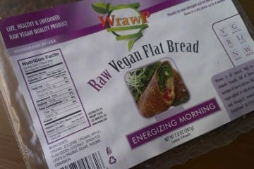 Raw Vegan Flat Bread