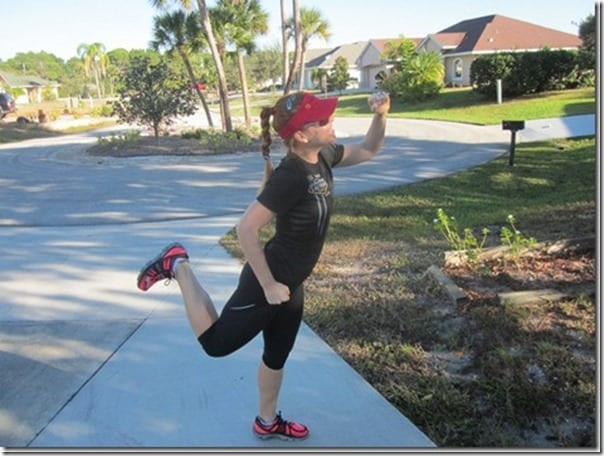 runner pose in florida