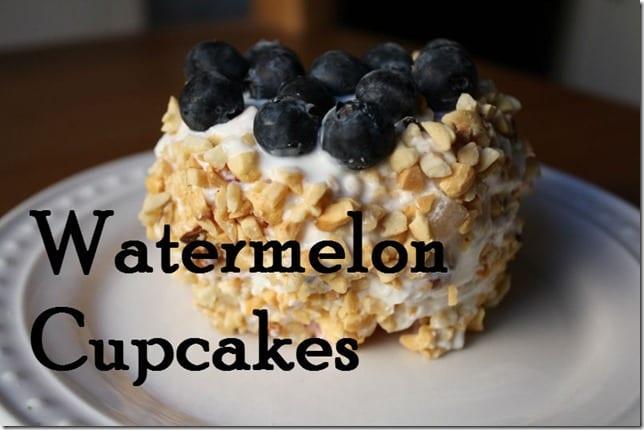 watermelon cupcakes recipe