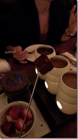 Max brenner chocolate fondue