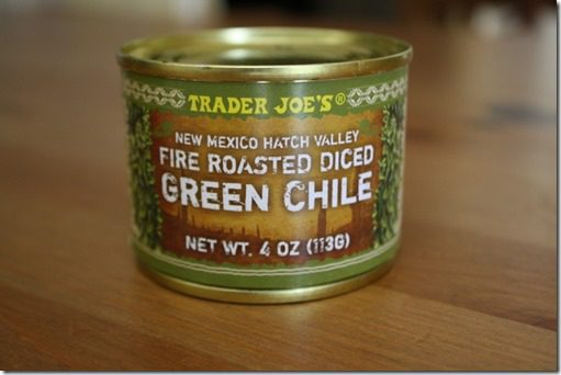 green chili in a can