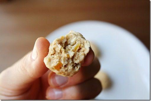 PB&J Protein Bites Recipe healthy