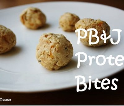 PB&J Protein Bites Recipe