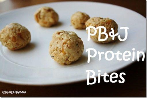 PBJ Protein Bites Recipe