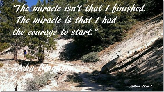 Running Motivation courage to start quote
