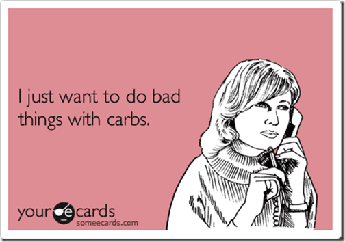 bad things with carbs