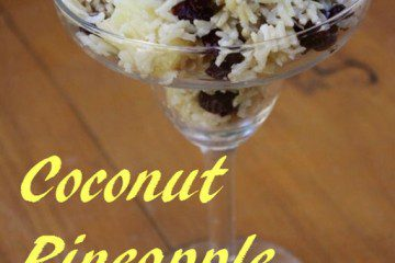 Coconut Rice with Pineapple and Cranberries Recipe and a GIVEAWAY