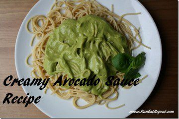 Creamy Avocado Sauce Pasta Recipe