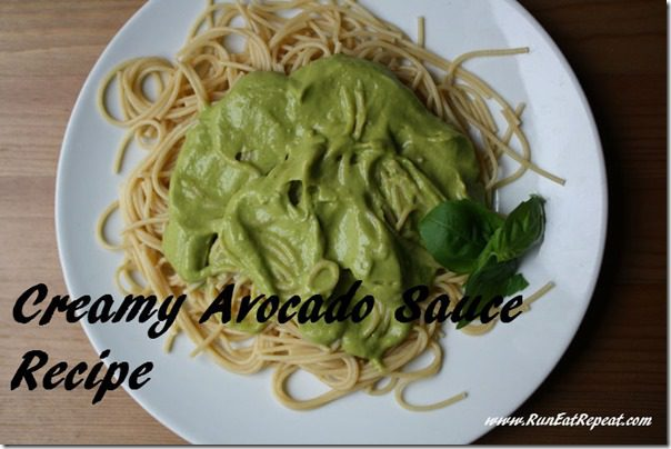 creamy avocado sauce recipe