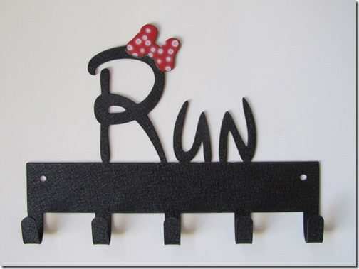 disney run medal hanger for runners