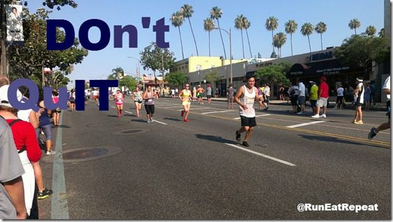 dont quit marathon motivation monday 800x450 thumb Marathon Training and Half Marathon Training