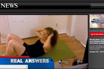 7 Minute Workout and .7 Seconds on TV