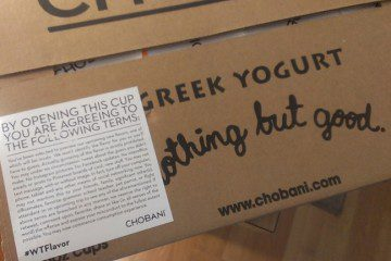 NEW Top Secret Chobani Yogurt Flavors - Giveaway