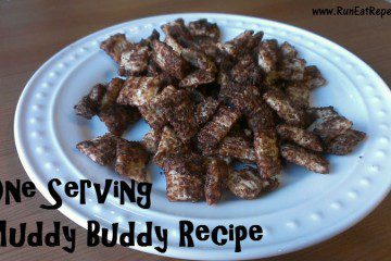 Muddy Buddy Recipe for One