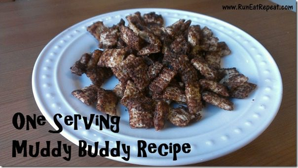 one serving dessert muddy buddy mix thumb Muddy Buddy Recipe for One