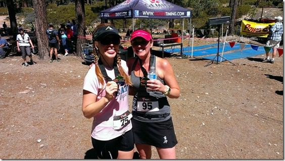 post race with gillian half marathon xterra (800x450)