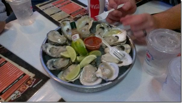 raw oysters from the boiling crab 800x450 thumb The Boiling Crab in Garden Grove