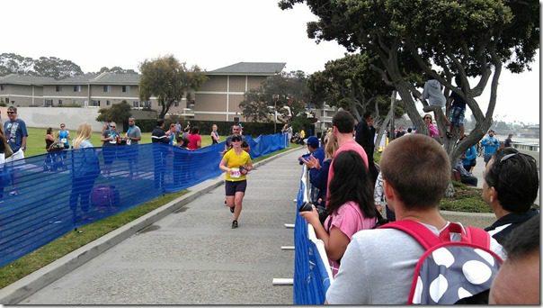 running half marathon shoreline half race in ventura
