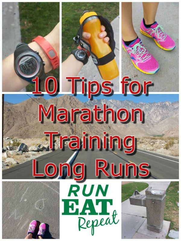 10 tips for marathon training long run