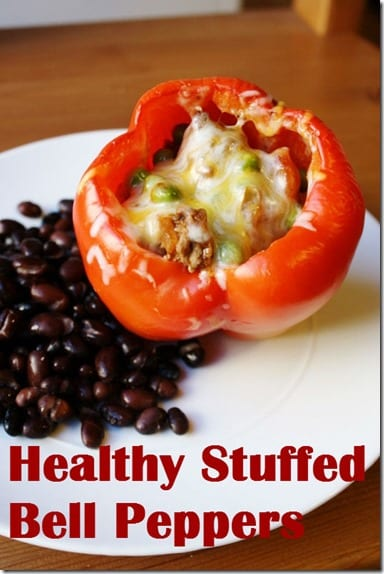 Healthy Stuffed Bell Peppers Recipe thumb Salsa Stuffed Peppers Recipe